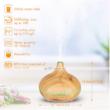 Fa hatású illóolaj párologtató, diffúzer 300 ml