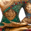 Buddha statue colored 30cm - Bodhi