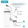 Mineral Geo palm BPA free bottle 520ml - Quokka