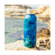 Solid Blue rock fémkulacs 510ml - Quokka