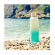 Solid Sea shore fémkulacs 630ml - Quokka