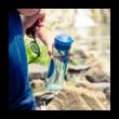 Splash Azurite BPA mentes műanyag kulacs 730ml - Quokka