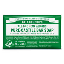 Dr. Bronner's Organic pure-castile bar soap 140g - Almond