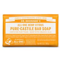 Dr. Bronner's Organic pure-castile bar soap 140g - Citrus-orange