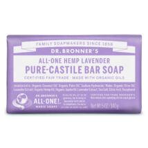 Dr. Bronner's Organic pure-castile bar soap 140g - Lavender