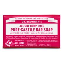 Dr. Bronner's Bio szilárd szappan - Rózsa 140g
