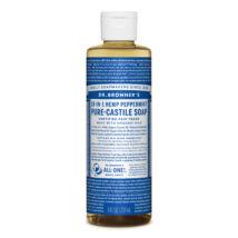 Dr. Bronner's Folyékony kasztíliai szappan koncentrátum - Borsmenta 240ml
