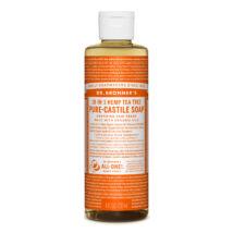 Dr. Bronner's Folyékony kasztíliai  szappan koncentrátum - Teafa 240ml