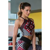 Aztec Red top – Indi-Go