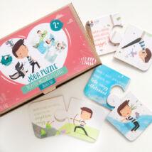 Jóga Puzzle pozitív megerősítésekkel - Jógakaland
