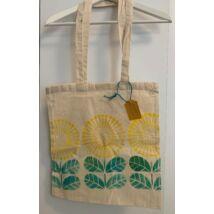 Kézzel festett szövet táska - Pitypang