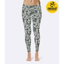 Morning Light Cotton Yoga Leggings - PatentDuo