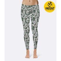 Morning Light Cotton Yoga Leggings - PatentDuo