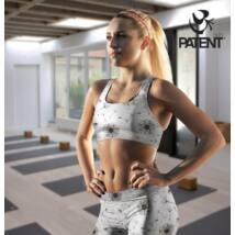 Grey Women's sports bra - PatentDuo