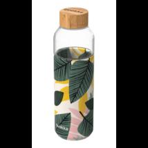 Üveg kulacs szilikon borítással 660 ml - Quokka