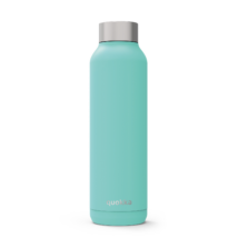 Solid Aquamarine stainless steel 630ml - Quokka