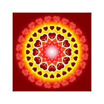 Mandala falikép