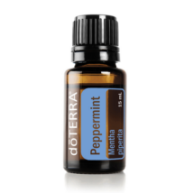 Peppermint essential oil - doTERRA