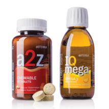a2z Chewable and IQ Mega - doTERRA