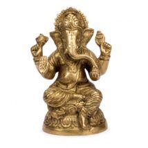 Ganesh réz szobor