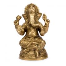 Ganesh brass statue 10,5cm - Bodhi