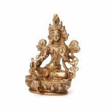 Green Tara réz szobor 9cm - Bodhi