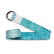 Yoga Strap - Mandala Turquoise / YogaDesignLab