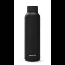 Solid Jet black stainless steel 630ml - Quokka