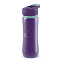 Spring Aqua violet fémkulacs 600ml - Quokka