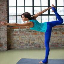 Blue Paw Yoga Pants