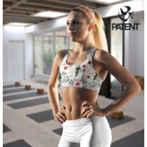 Women's cotton sports bra - PatentDuo