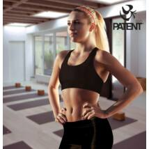 Női fekete sportmelltartó - PatentDuo