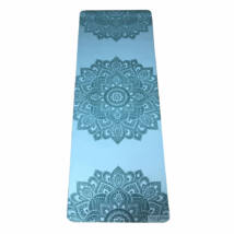 Infinity Yoga Mat - Mandala Aqua / YogaDesignLab