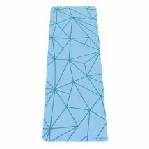 Infinity Yoga Mat - Geo Aqua / YogaDesignLab