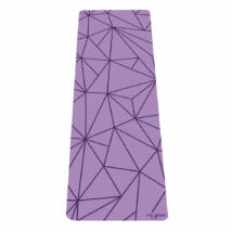 Infinity Yoga Mat - Geo Lavender / YogaDesignLab