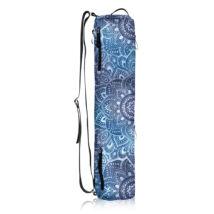 Jógaszőnyeg táska - Mandala aqua - YogaDesignLab