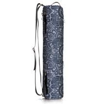 Jógaszőnyeg táska - Mandala charcoal - YogaDesignLab