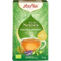 Yogi Tea - Bio tea az érzékeknek - Nyugodt pillanat