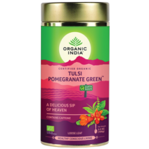 Bio Tulsi tea - Gránátalmás Zöld tea - Szálas