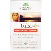 Bio Tulsi tea - Gránátalmás Zöld tea