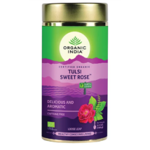 Bio Tulsi tea - Sweet rose - Szálas