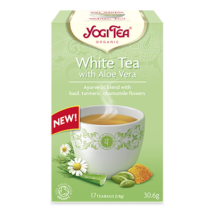 Yogi Tea - White tea with aloe vera