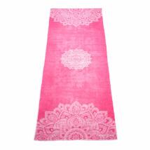 Yoga Towel - Mandala Rose / YogaDesignLab