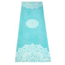 Yoga Towel - Mandala Turquoise / YogaDesignLab