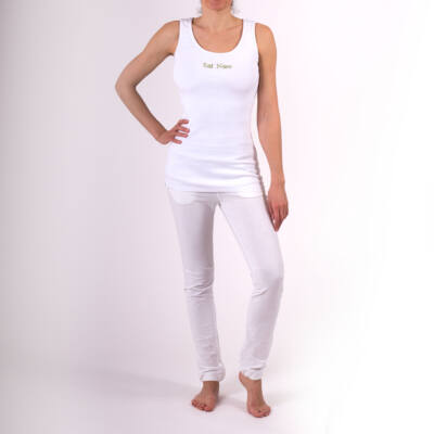 Jóga trikó , yoga tanktop,Yogin White