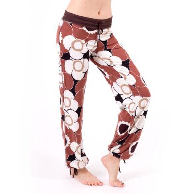 Jóga nadrág, yoga pants,  Yogin Wild Flower