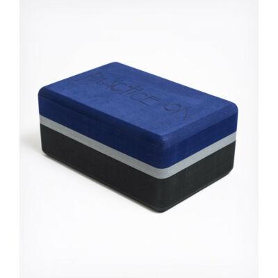 Charcoal hab jógatégla (3 színtónus kék-szürke) Manduka UpHold