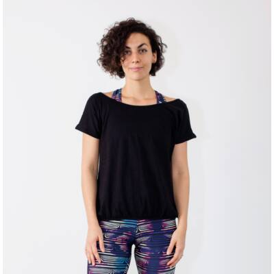 Női rövidujjú jóga felső - PatentDuo