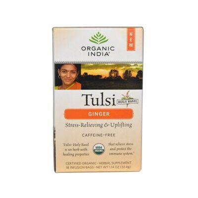 Bio Tulsi tea - Gyömbér