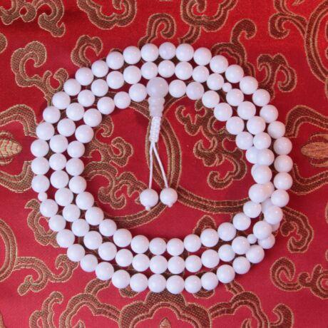 Fehér Jade Mála kis osztóval